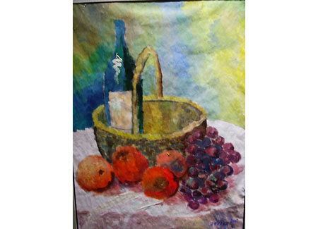 Art Work -Picnic on a table
