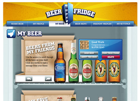 Web Development - Beer Fridge