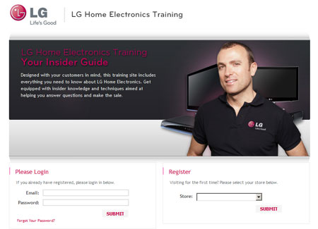 LG Home Electronics Training