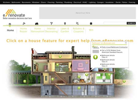 Web Design - eRenovate