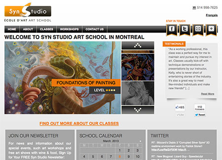 Web Design and  Development - Syn Studio